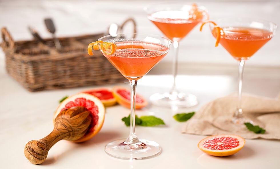pink jalisco cocktail photo in landscape